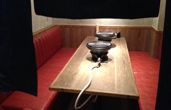 ロッキー馬力屋の個室